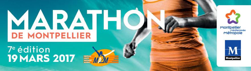 Kokcinelo partenaire du marathon de Montpellier 2017