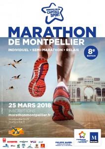 affiche marathon 2018